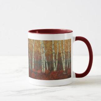 Wild Birch Grove Mug