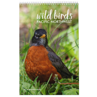 Wild Birds of the Pacific Northwest Calendar