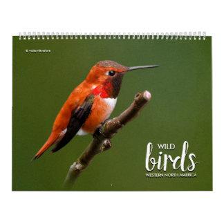 Wild Birds of Western North America Calendar