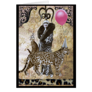 Wild Birthday - Mme. Ocelot Card