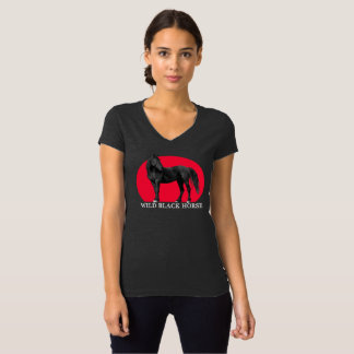 Wild Black Horse Logo T-shirt