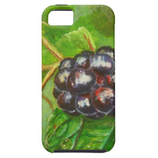 Wild Blackberries ripening in Summer iPhone 5 Cover