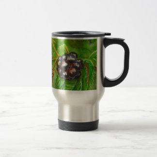 Wild Blackberries ripening in Summer Travel Mug
