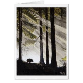 Wild Boar Card