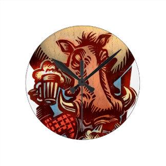 Wild Boar Clock