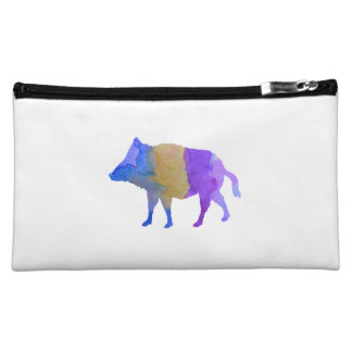 Wild boar cosmetic bag