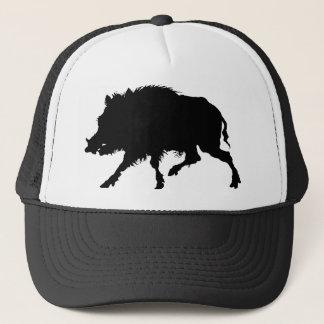Wild Boar From Antique German Engraving Trucker Hat