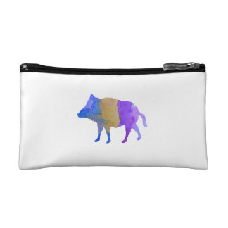 Wild boar makeup bag