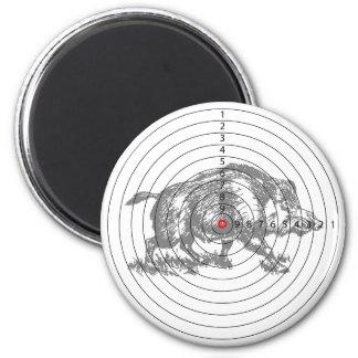 Wild Boar Target Magnet