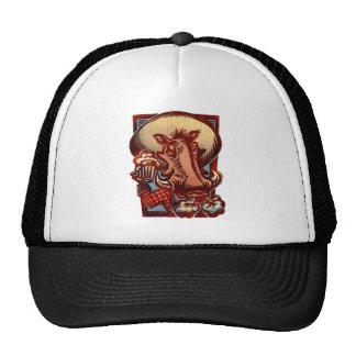 Wild Boar Trucker Hat