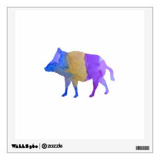 Wild boar wall sticker