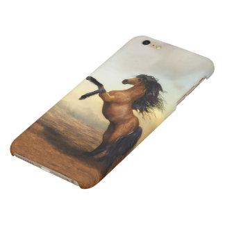 Wild Brown Horse Matte iPhone 6 Plus Case