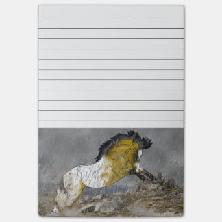 Wild Buckskin Appaloosa Horse Post-it Notes