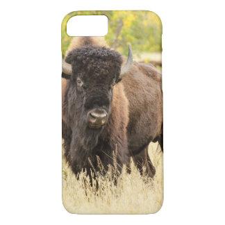 Wild Buffalo in a Field iPhone 8/7 Case