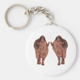 Wild Buffalo Keychain