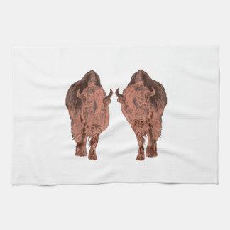 Wild Buffalo Kitchen Towels