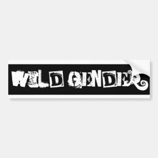Wild Bumper Bumper Sticker