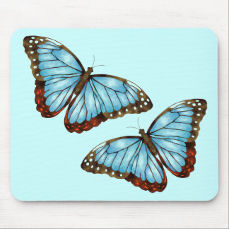 Wild Butterflies Mouse Pad