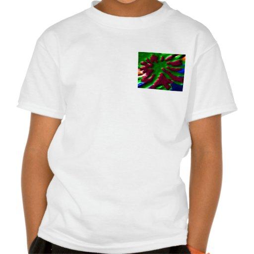 wild CACTUS cacti Green Exotic Flower Green Pocket Tee Shirts