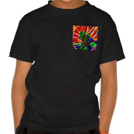 wild CACTUS cacti Green Exotic Flower Green Pocket Shirt