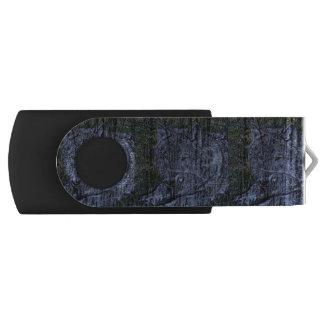 Wild camouflage woodland wildlife Grey wolf USB Flash Drive
