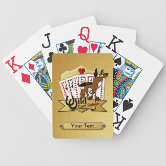 Wild Card Saloon Deck