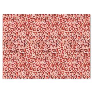 WILD CAT Orange Leopard Skin Animal Print Tissue Paper