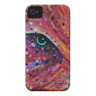 Wild Cat -Painting from 2015 Case-Mate iPhone 4 Case