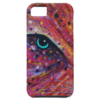 Wild Cat -Painting from 2015 iPhone 5 Case