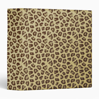 Wild Cat Print Image Binder