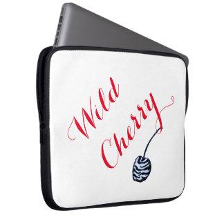 Wild Cherry laptop sleeve