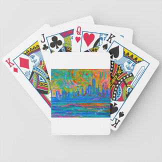Wild Chicago Ride Bicycle Playing Cards