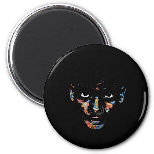 Wild child 2 inch round magnet