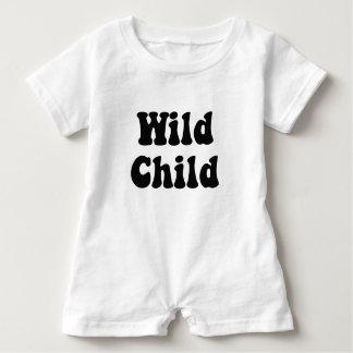 Wild Child Baby Romper