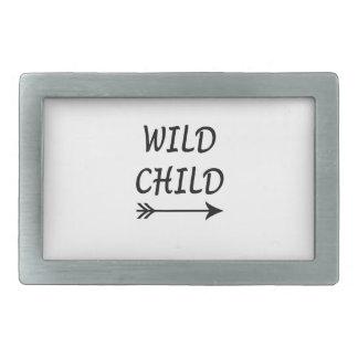 Wild Child present Belt Buckles