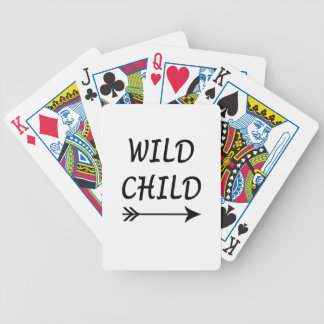 Wild Child present Bicycle Playing Cards