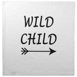 Wild Child present Napkin
