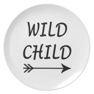 Wild Child present Plate
