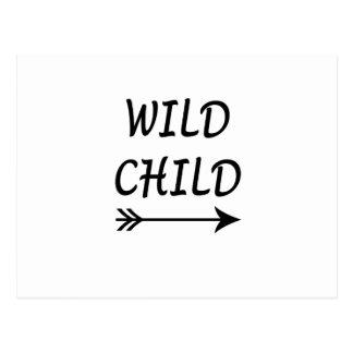 Wild Child present Postcard