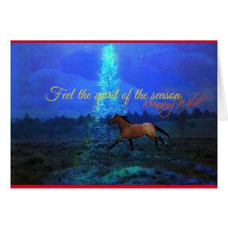 WILD Christmas Greeting Card