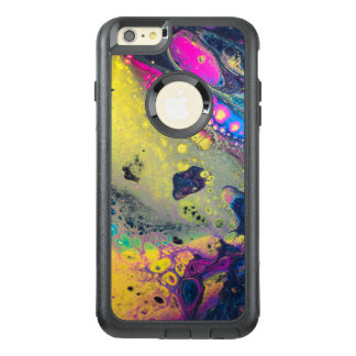 "Wild Colorful Acrylic ""Dirty Pour"" OtterBox iPhone 6/6s Plus Case"