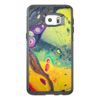 "Wild Colorful Acrylic ""Dirty Pour"" OtterBox Samsung Galaxy S6 Edge Plus Case"