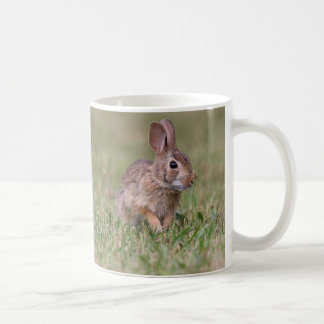 Wild Cottontail Rabbit Coffee Mug