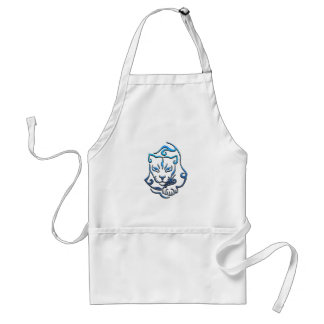 Wild Cougar Cat Standard Apron