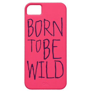 Wild Customizable Text iPhone 5 Case