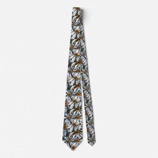 """""""wild Daisy #1"""" Flower Garden Neck Tie"""