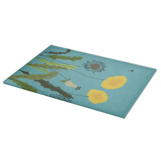 Wild Dandelion Print Cutting Board