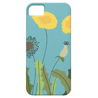 Wild Dandelion Print iPhone 5 Cases
