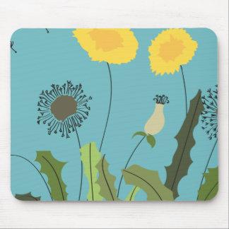 Wild Dandelion Print Mouse Pad
