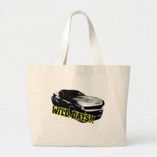 Wild Days! Large Tote Bag